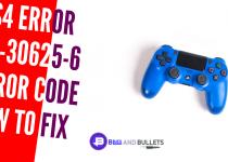 PS4 Error SU 30625 6 Error Code